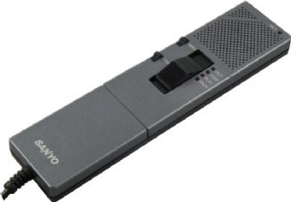 Sanyo Dictation HM55 Handheld Microphone For TRC-6300 & TRC-8800 (Refurbished) | Premicom Ltd